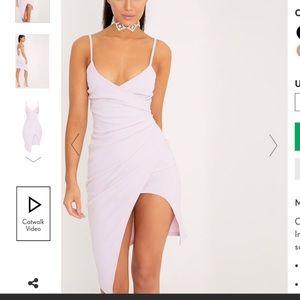 Iilac dress
